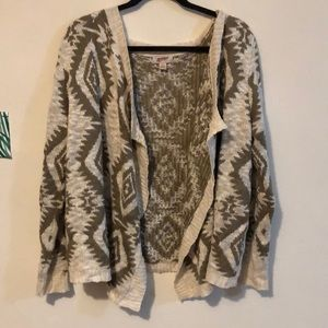 Tan tribal sweater
